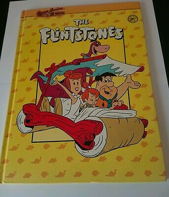 Hanna Barbara Family Favourites The Flintstones Hardcover Book ~1990~Nice Book