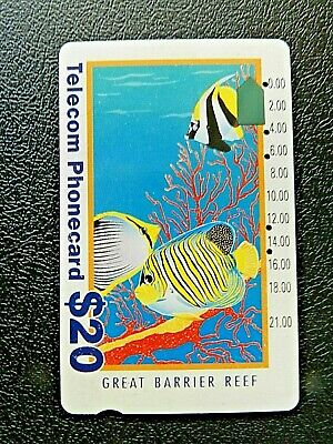 $20 Great Barrier Reef Telecom Phonecard.