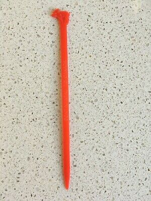 COLLECTABLE VINTAGE PLASTIC SWIZZLE STICK CONTINENTAL AIRLINES TO New Zealand