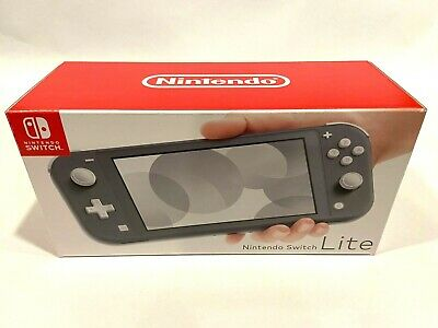 NINTENDO SWITCH LITE Gray ~ Handheld Video Game Console Grey NEW ~ SHIPS FAST