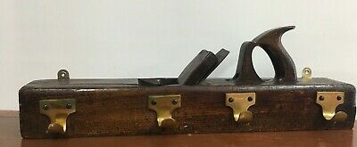 Large Antique Wooden Block Plane Coat Hook/Hanger