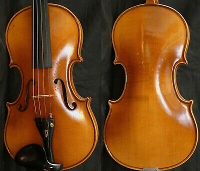 Fine 4/4 Old Antique German Violin Lab: Adolf SPRENGER fiddle 小提琴 ヴァイオリン Geige