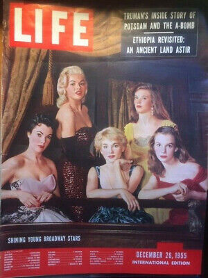 Life *International* December 26, 1955 - Shining young Broadway stars