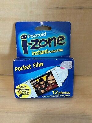 POLAROID I-Zone Instant Pocket Sticker Film Pack of 12 Photos SEALED