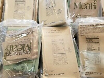 Sopakco Sure-Pak Military Complete Meal Ready-to-Eat MRE Emergency Rations
