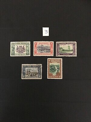 Southern Rhodesia Stamps 1940 - Golden Jubilee Of British South Africa Company