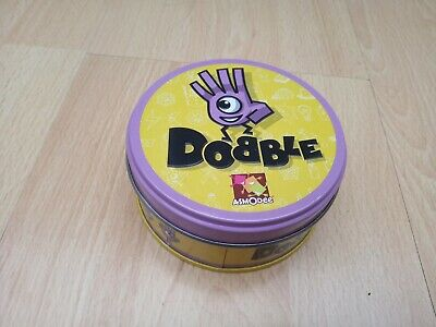 DOBBLE Card Game in Tin by Asmodee (CHARITY SALE)