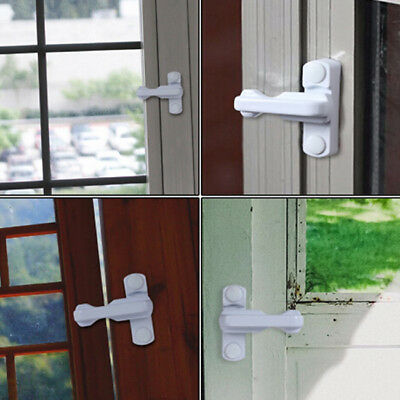 Safety Guards-Restrictor Kids Security Universal Zinc Alloy Window Door Lock L