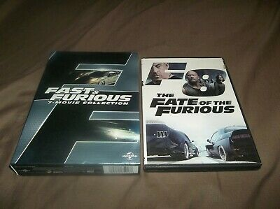 Fast and Furious 8 Movie Collection DVD
