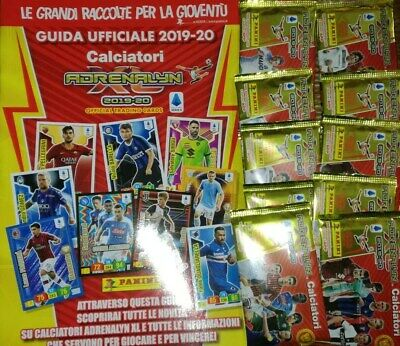 25 sachets (150 cartes) Panini Adrenalyn XL 2019/2020 Players Collection + Guide