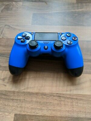 Sony DualShock 4 wireless controller for the playstation 4- Blue edition