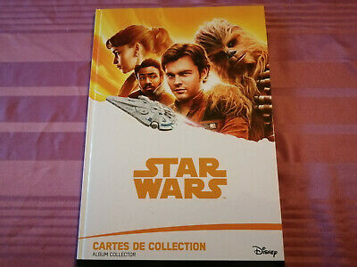 star war cartes collection disney -leclerc album complet
