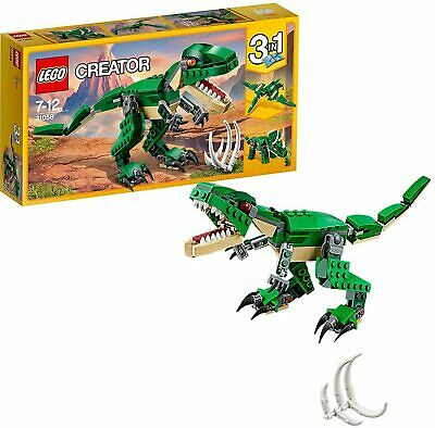 LEGO 31058 Creator 3-IN-1 Model Mighty Dinosaurs T Rex Kids Building Toy Set