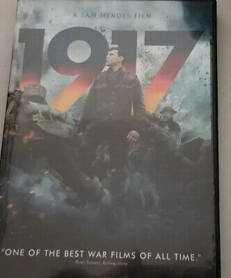 1917 DVD George MacKay like new, DVD and case