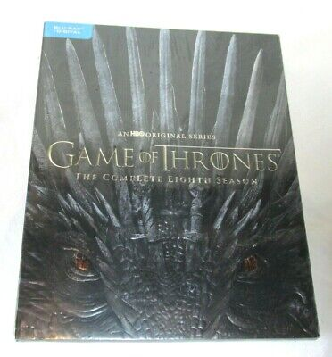 Game of Thrones The Complete Eighth Season Blu Ray + Bonus Disc Walmart Exclusiv