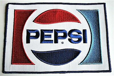 Large Pepsi Cola Pepsi-Cola Soda Distributor Back Jacket Patch 1980's NOS New