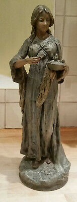 Arts And Crafts Pottery Figure.