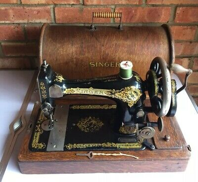 Antique Singer 127k Or 128k Sewing Machine 1913