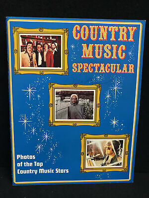 Vintage 70's Country Music Spectacular Photo Album