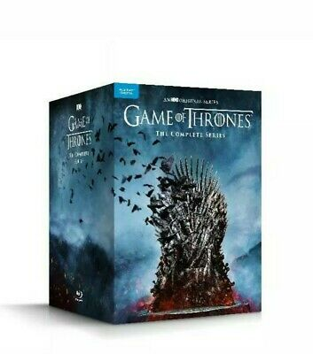 Game Of Thrones: The Complete Series All Seasons Blu-Ray Epic Best Show Magic