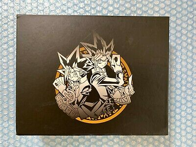 YU-GI-OH! Puzzle Pieces x7 Metalic Gold Look Almost Complete set Missing Axe