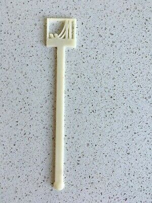 Collectable Vintage Plastic Swizzle Stick Royal Marriot Hotel Chain