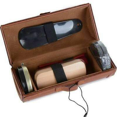 Mad Man Shoe Shine Kit - Shoe Care Travel Kit