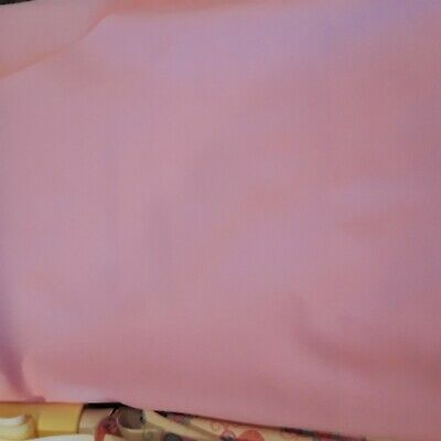 "Solid Pink Laminated Waterproof Babyville Boutique 64"" x 18"