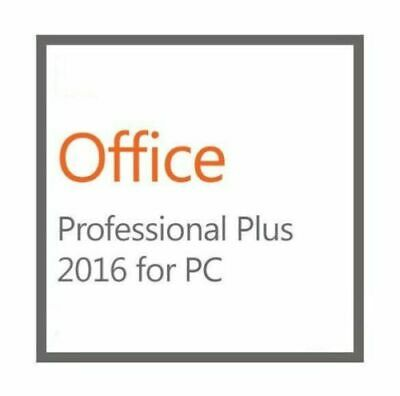 Microsoft Office 2016 Professional Plus 5PC -DVD - New- Genuine