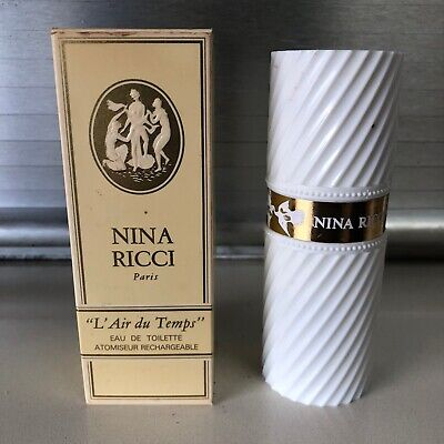 Vintage Nina Ricci Paris L'Air Du Temps' Eau De Toilette Perfume Spray