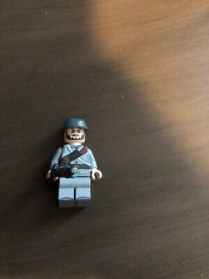 Confederate Army Single Soldier made with real LEGO® army builder minifigure