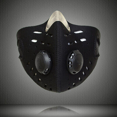 Outdoor Sport Mouth Half Face Shield with Filter Anti Dust Fog Cycling Riding