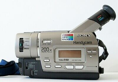 Sony Handycam CCD-TR517 8mm Video8 HI8 HI 8 Camcorder VCR Player Video Transfer