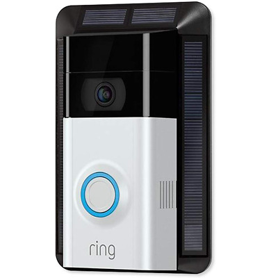 Ring Solar Charger for Video Doorbell 2 8EA8S7-0EN0 Power Source and Mounting