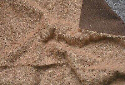 Top Quality Schulte Curly Ratinee Mohair. Beautiful fur. Lovely sheen to it.