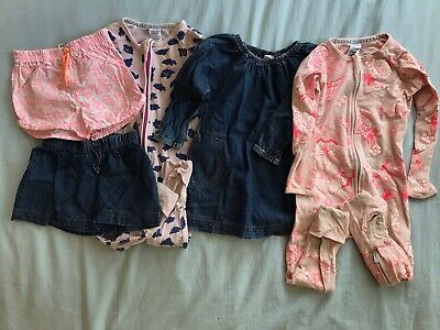 Bonds Baby Girl Bundle Size 1 & 2 Daycare Condition