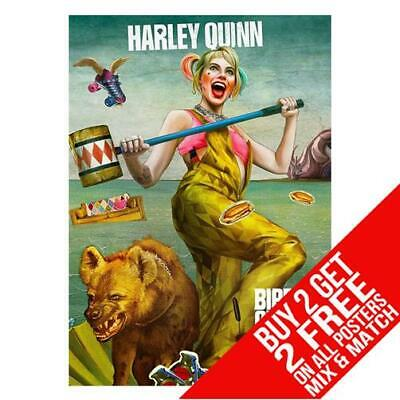 BIRDS OF PREY BB4 HARLEY QUINN POSTER ART PRINT A4 A3 SIZE BUY 2 GET ANY 2 FREE