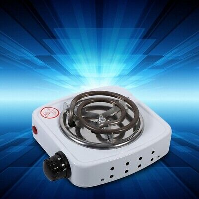 Portable Mini Electric Stove Burner Hot Plate Cooker Home Office Coffee Cooktop