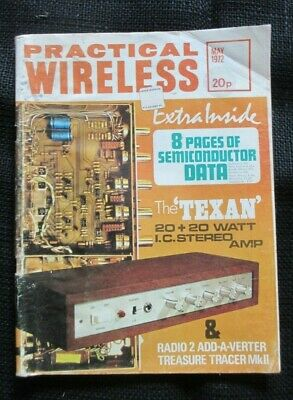 May 1972 Practical Wireless Magazine Semiconductor Data The 'Texan' Stereo Amp.