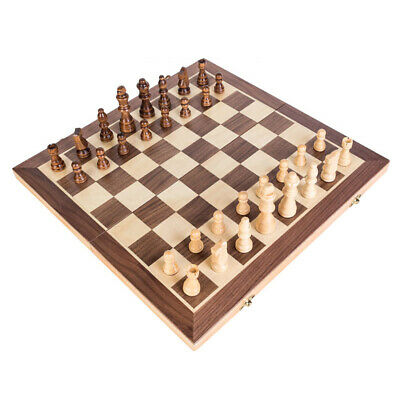 Folding Wooden Chess Set High Quality Standard Chess Set Chessboard 40*40CM