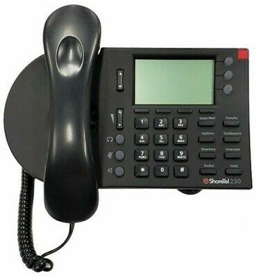 ShoreTel IP 230 3 Line  IP Phone - Black