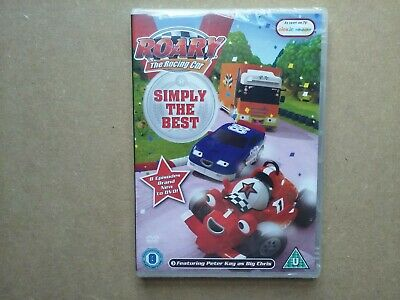 Roary The Racing Car - Simply The Best - 8 Episodes - Peter Kay (DVD) NEW