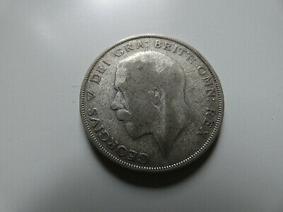 1923 Silver Half Crown King George V th