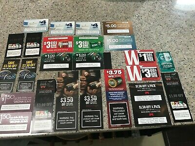 Tobacco coupons Marlboro, Camel, Winston and more! Save $71! (25 coupons)
