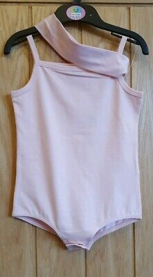 Brand New M&S Girls Pink Leotard with Hairband Ballet/Dance/Dress Up Age 4-5 Yrs