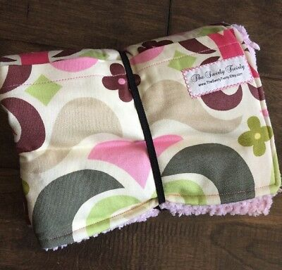 NWOT Diaper Changing Pad Roll & Storage Pocket Amy Butler Fabric