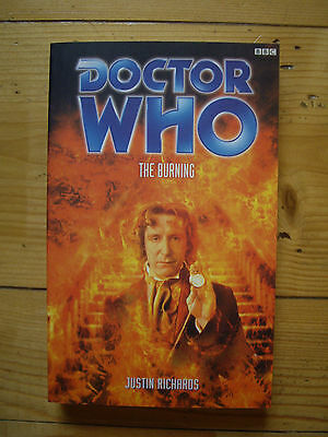 Doctor Who The Burning, The Eighth Doctor  Adventures (EDA), BBC book