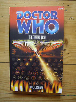 Doctor Who The Turing Test, The Eighth Doctor  Adventures (EDA), BBC book