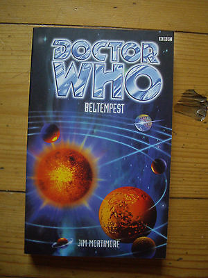 Doctor Who Beltempest, Eighth Doctor Adventures (EDA), BBC paperback
