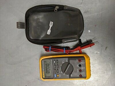 Fluke 87 III True RMS Digital Multimeter with leads and Case.